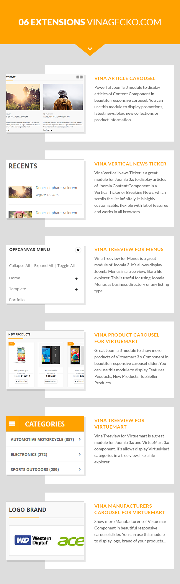 Vina Dilima - Multipurpose VirtueMart Template - CMS Themes
