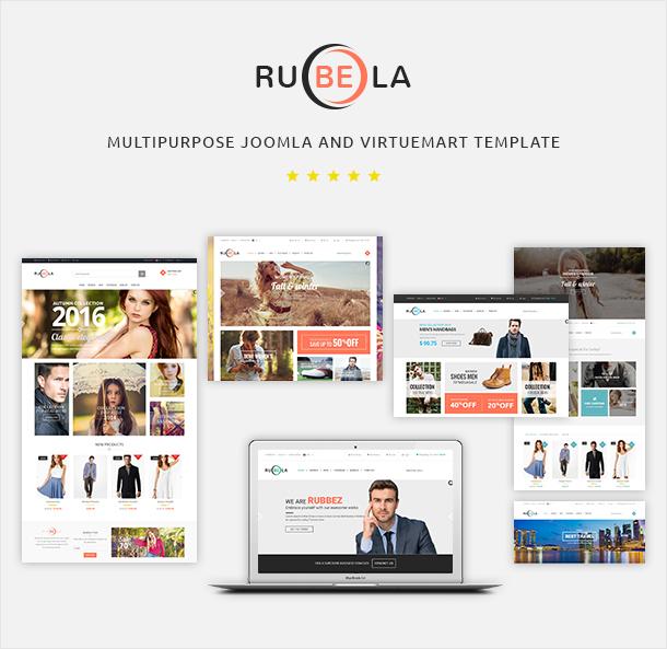Vina Rubela - Multipurpose VirtueMart Joomla Template - 6