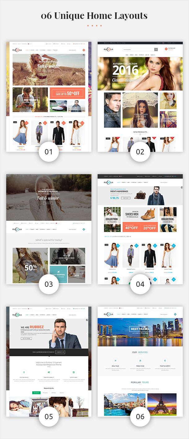 Vina Rubela - Multipurpose VirtueMart Joomla Template - 7