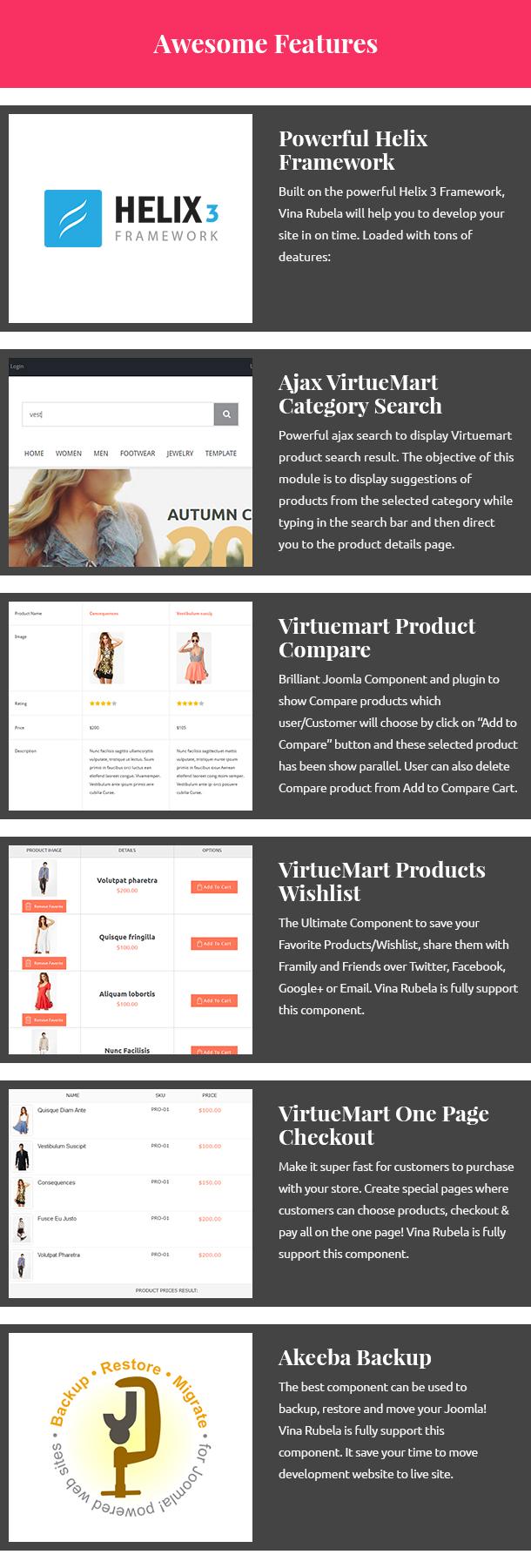 Vina Rubela - Multipurpose VirtueMart Joomla Template - 14