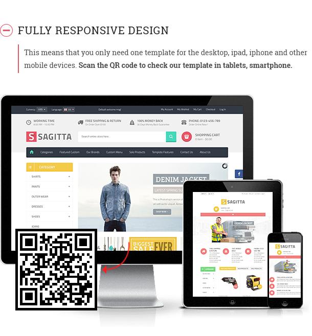 Vina Sagitta - Responsive Joomla eCommerce Template - 7