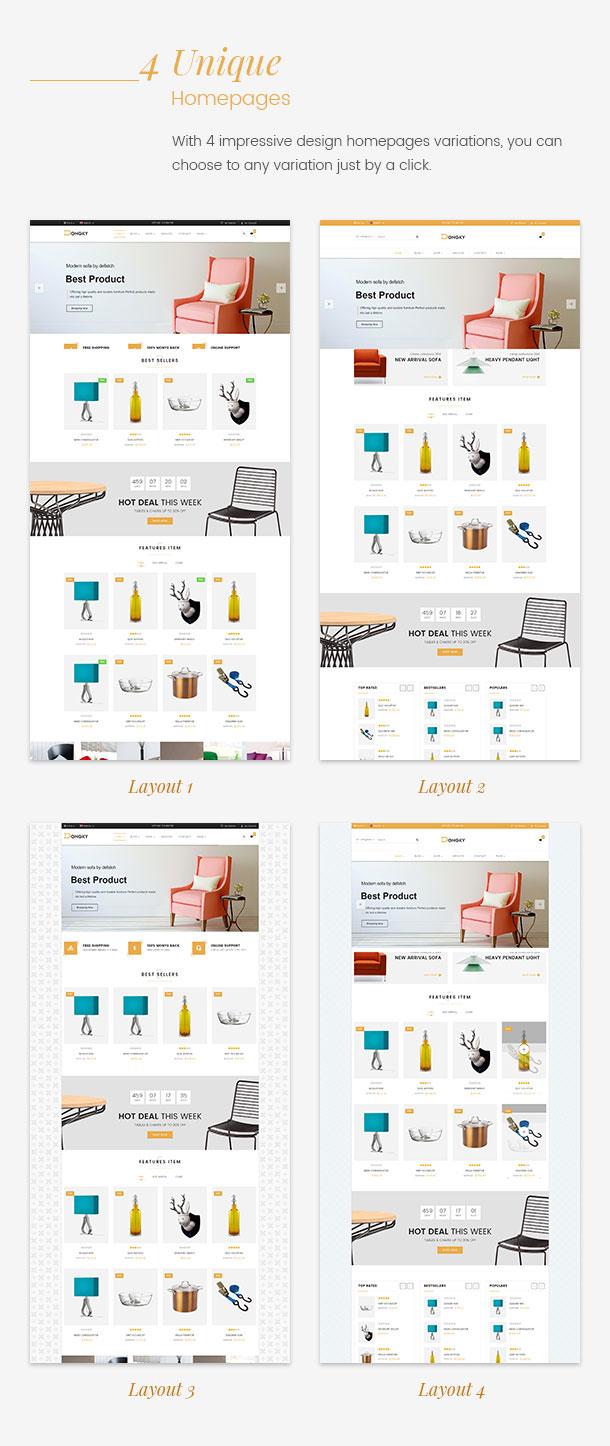 Vina Dongky - Clean & Minimal VirtueMart Joomla Template - 15