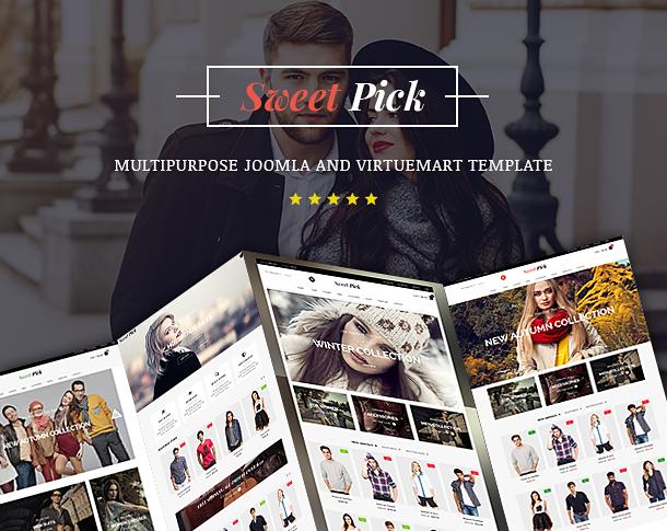 Vina SweetPick - Modern eCommerce VirtueMart Joomla Template - 6