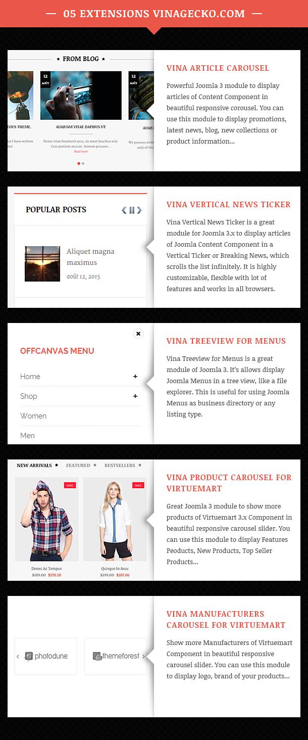 Vina SweetPick - Modern eCommerce VirtueMart Joomla Template - 15
